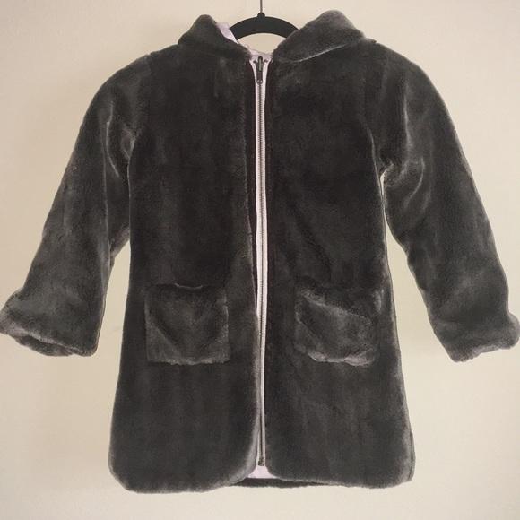 f82f33b54 🔻Lili Gaufrette Faux Fur Coat